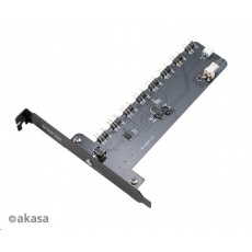 AKASA řadič Soho ARGB XL, 8 kanálů, PCIe slot