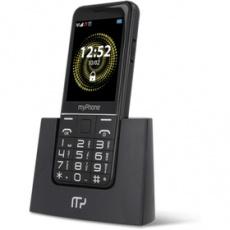 Mobilný telefón Halo Q Senior tlačidlový čierny myPhone