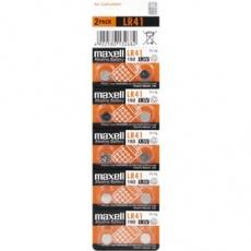 Batéria LR41/192 10BP Alk MAXELL