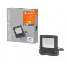 LEDVANCE SMART+ OUTDoor WIFI FLOOD RGBW 10W IP65 630lm 3000K Dark Gray