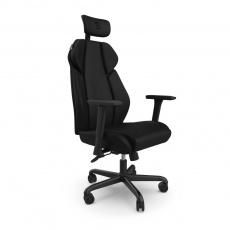 BAZAR SPC Gear EG450 BK ergonomická herní židle černá - textilní - Rozbaleno, bez originální krabice
