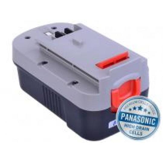 AVACOM baterie pro BLACK & DECKER A1718 Ni-MH 18V 3000mAh, články PANASONIC