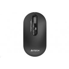 A4tech bezdrátová myš FG20, FSTYLER, šedá