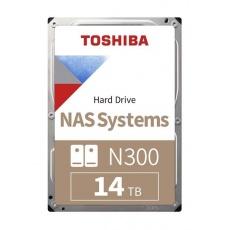 "TOSHIBA HDD N300 NAS 14TB, SATA III, 7200 rpm, 256MB cache, 3,5"", BULK"
