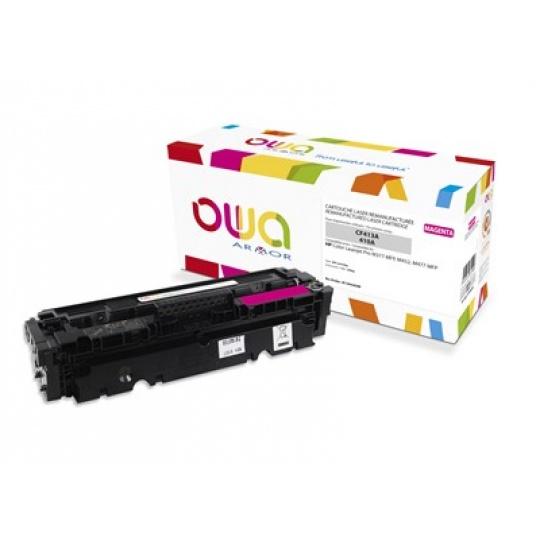 OWA Armor toner pre HP Color Laserjet pre M377, M452, M477, 2300 strán, CF413A, Magenta