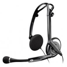 PLANTRONICS sluchátka s mikrofonem Audio 400 DSP pro PC, konektor USB, černá