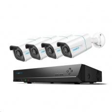 REOLINK bezpečnostní kamerový set s umělou inteligencí RLK8-810B4-A, osmikanálový 4K