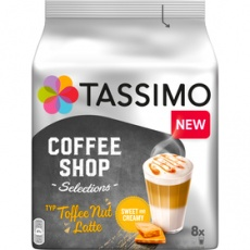 Kapsuly Tassimo Tassimo Toffee Nut Latte kapsule 268g
