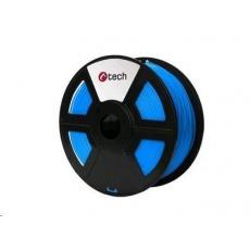 C-TECH Tisková struna (filament) ABS, 1,75mm, 1kg, modrá
