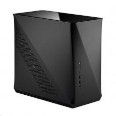 FRACTAL DESIGN skříň Era ITX, USB 3.1 Type-C, 2x USB 3.0, carbon černá, bez zdroje