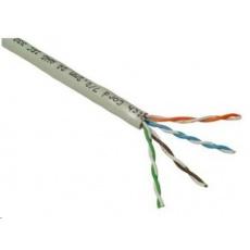 UTP kabel PlanetElite, Cat5E, drát, LS0H, Dca, šedý, 305m