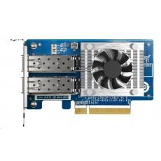 QNAP QXG-25G2SF-CX6 Rozšiřující síťová karta 25 GbE se dvěma porty SFP28