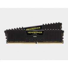 CORSAIR DDR4 16GB (Kit 2x8GB) Vengeance LPX DIMM 2666MHz CL16 černá
