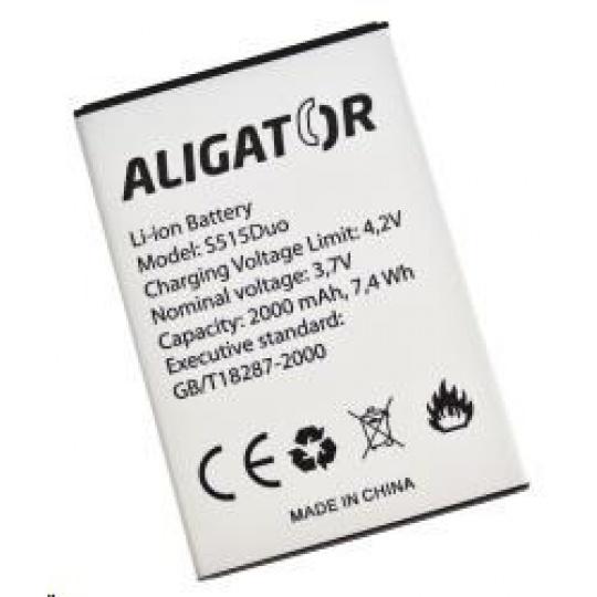 Aligator baterie Li-Ion 2000 mAh pro Aligator S515 Duo - BULK