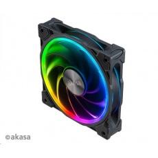 AKASA ventilátor SOHO AR, 120x120x25mm, ARGB 12V