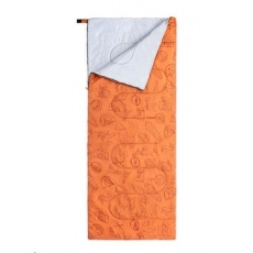 Naturehike S150 spací pytel 800g - oranžový