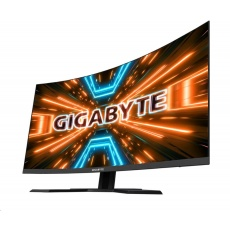 """GIGABYTE MT LCD - 31.5"""" Gaming monitor G32QC A, 2560x1440 QHD, 350cd/m2, 1ms, 2xHDMI 2.0, 1xDP 1.2, 2xUSB 3.0, curve, VA"""