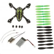 Hubsan příslušenství k Dronu: H107C-A41 crash pack H107C black&green