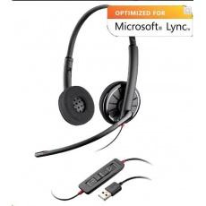 PLANTRONICS náhlavní souprava BLACKWIRE C720-M, USB, stereo