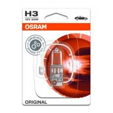 OSRAM autožárovka H3 STANDARD 12V 55W PK22s (Blistr 1ks)