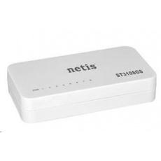 Netis ST-3108GS switch, 8x10/100/1000