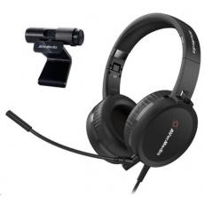 AVerMedia Videokonferenční set BO317, webkamera + sluchátka