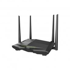 Tenda V12 - Wireless AC Dual Band VDSL2+/VDSL/ADSL Router 802.11ac/a/b/g/n,1200 Mb/s, Gigabit WAN/LAN, USB 2.0, VPN serv