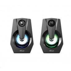 TRUST reproduktor Ziva RGB Illuminated 2.0 Gaming Speaker Set