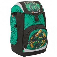 Školská aktovka Nielsen Ninjago Green-školská taška LEGO