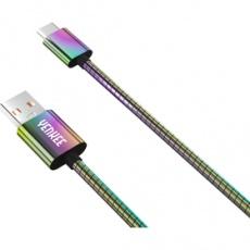 USB kábel YCU 351 Ocelový USB C kabel / 1m YENKEE