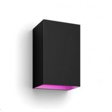 PHILIPS Resonate Exteriérové nástěnné svítidlo, Hue White and Color Ambiance, 230V, 2x8W E27, Černá