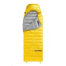 Naturehike péřový spací pytel CW400 750FP 930g vel. L - žlutý