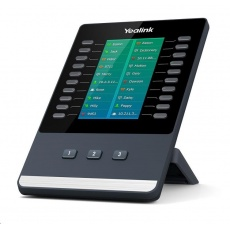 Yealink EXP50 expanzní modul, LCD, 20 prog. tl. (x3 strany), pro T53/T53W/T54W/T57W/T58A