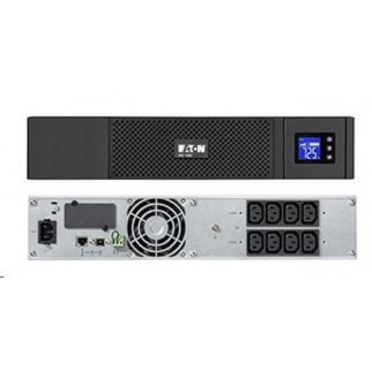 Eaton 5SC 1000i Rack 2U, UPS 1000VA / 700W, 8 zásuvek IEC, LCD