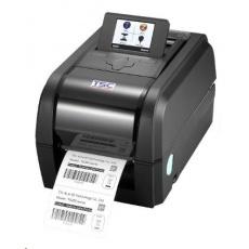 TSC TX300 Stolná TT tlačiareň čiarových kódov, 300 dpi, 6 ips, LCD, tmavá.