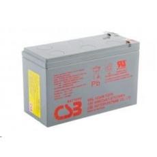CSB 12V 9Ah olověný akumulátor HighRate (8 let) F2 (HRL1234W F2 FR)