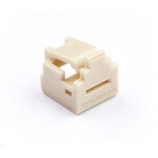 SMARTKEEPER Mini RJ11 Port Lock 4 - 1x klíč + 4x záslepka, béžová