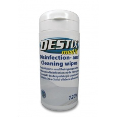 DESTIX Dezinfekční utěrky MA61 v dóze LEMON, (13x20cm, 120ks), alkoholová báze