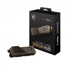 MSI SSD SPATIUM M480, 1TB, PCIe 4.0 NVMe M.2 HS