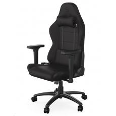 SPC Gear herní židle SR400F / textilní / černá