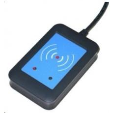 ELATEC RFID čítačka TWN4, Legic NFC, 125kHz / 13,56MHz, USB, čierna