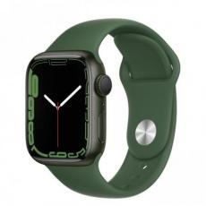Apple Watch Series 7, 41mm Green/Clover SportBand