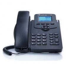 AudioCodes IP telefon 405, grafický displej, 10/100 Mbps, PoE, černá, napájecí zdroj
