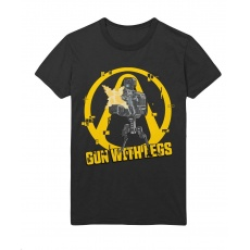 GLO BORDERLANDS 3 THE GUN WITH LEG T-SHIRT L