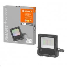 LEDVANCE SMART+ OUTDoor WIFI FLOOD RGBW 30W IP65 2190lm 3000K Dark Gray