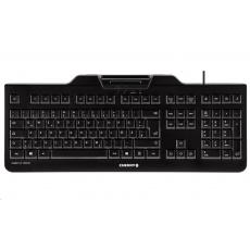 CHERRY klávesnice se čtečkou karet KC 1000 SC/ USB/ ISO 7816 podporované karty/ černá/ CZ layout
