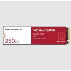 WD RED SSD NVMe 250GB PCIe SN700, Geb3 8GB/s, (R:3100/W:1600 MB/s) TBW 500
