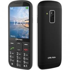 Mobilný telefón Halo 18 Senior tlačidlový čierny CPA