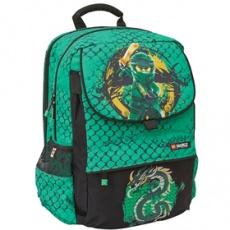 Školská aktovka Hansen Ninjago Green-školská taška LEGO