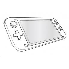 SPEED LINK tvrzené sklo GLANCE PRO Tempered Glass Protector Set, pro Nintendo Switch Lite